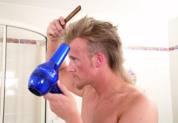 Čištění vlasového systému